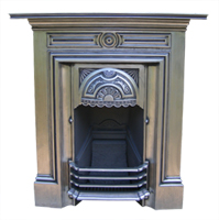 Cast iron fireplace restoration services Victorian fireplace restoration