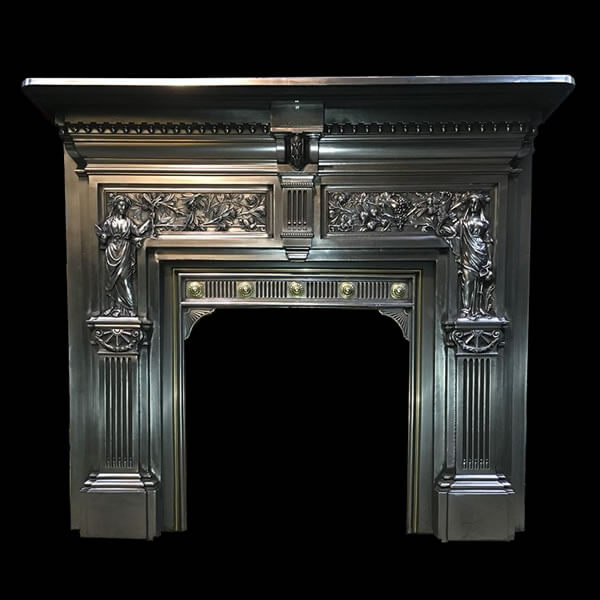 Fireplace surrounds from Ironwright