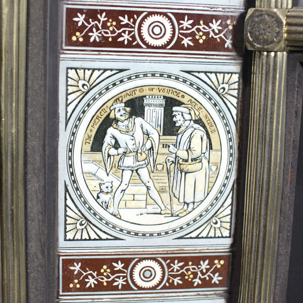Fireplace tiles from Ironwright