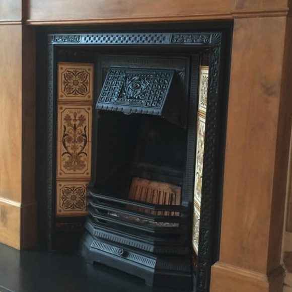 Ironwright - View our cast iron fireplace restoration work